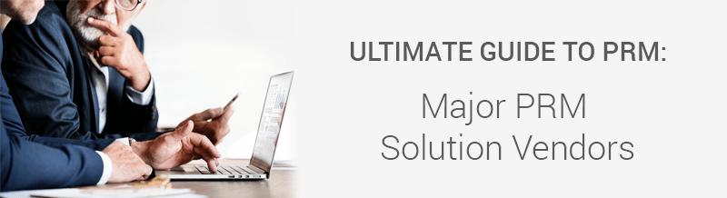 Channel partner management system vendors